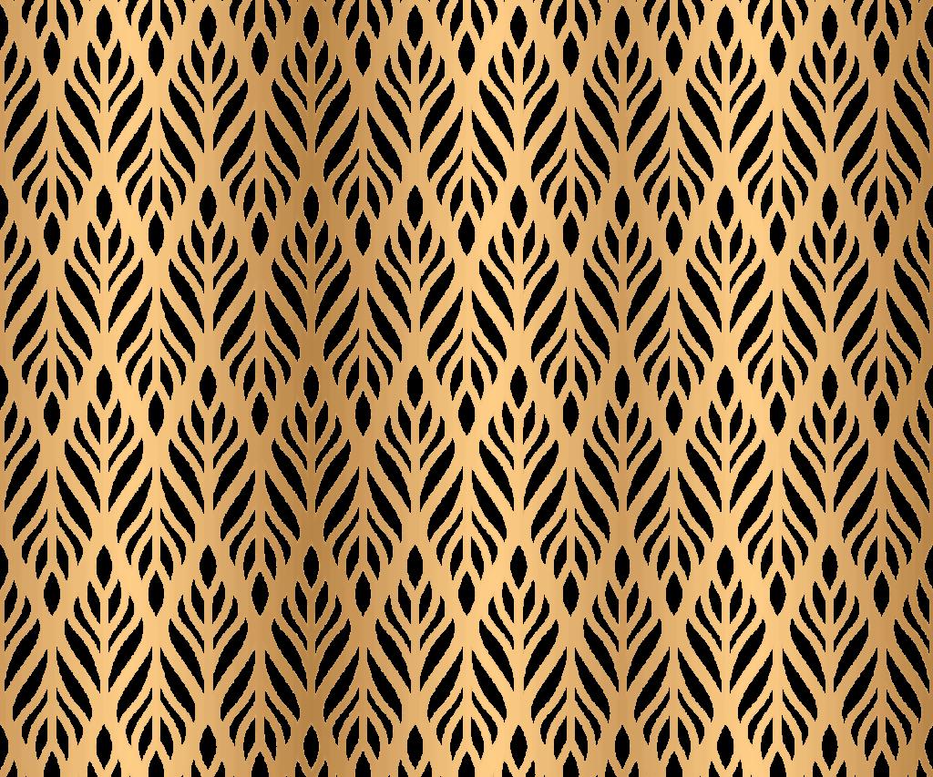 Интерьерная дверная панель Herringbone Leaves