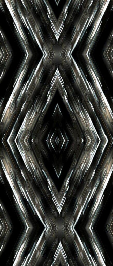 Дверная декоративная панель geometry-3d