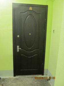 дверь после отделки