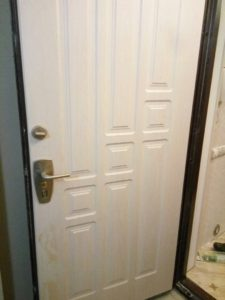 дверь после